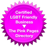 Certified LGBT Friendly Business Program- The Seal